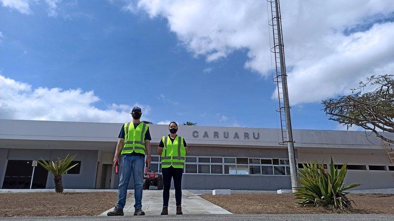INFRACEA Equipe Start up Aeroporto de Caruaru PE